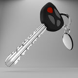 3d car remote key. Stock Photography