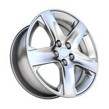 3d car rim Stock Image