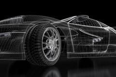 3D car Stock Photo