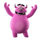 3D caractère - idéal comme société ou marque de mascotte Photo libre de droits