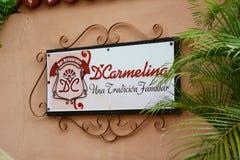 D'Carmelina Restaurant Imagenes de archivo