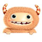 3d cartoon monster Royalty Free Stock Photos