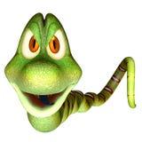 3d cartoon snake Stock Image