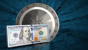 3d cash Stock Photo