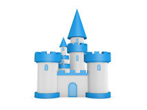 3d castle Stock Images