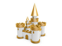 3d castle Stock Photos