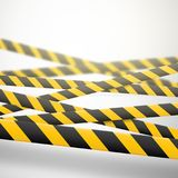 Caution lines isolated. Warning tapes. Danger signs. Vector illustration. vector illustration