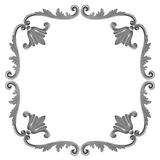 Frame made of gypsum Stock Image