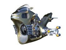 Hover bike. 3D CG rendering of a hover bike stock illustration
