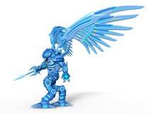 Mechanical monster. 3D CG rendering of a mechanical monster royalty free illustration