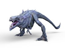 Monster. 3D CG rendering of a monster royalty free illustration