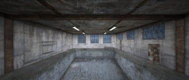 Morgue. 3D CG rendering of the morgue Royalty Free Stock Photos