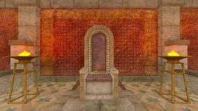 Underground temple Stock Images