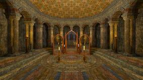 Underground temple Royalty Free Stock Photo