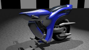 3d CG for SUPER BIKE Royalty Free Stock Photography