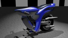 3d CG for SUPER BIKE. CG for SUPER BIKE and future vector illustration