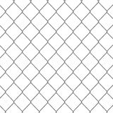 3d Chain link fence Stock Photos