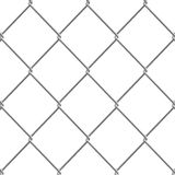 3d Chain link fence Royalty Free Stock Image