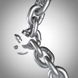 3D Chain Set 3 Stock Images