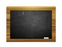 3d chalkboard z kredą Fotografia Royalty Free