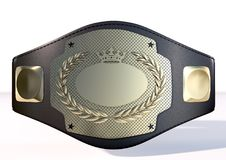 3D championship belt Stock Images