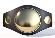 3D championship belt Royalty Free Stock Photos