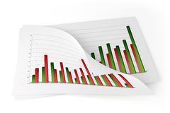 3D Charts - Improvement Stock Images