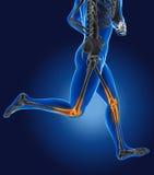 3D che corre uomo medico Fotografia Stock