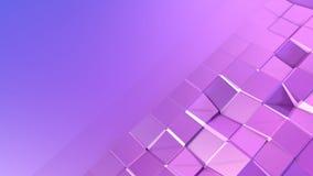 3d che rende fondo geometrico astratto con i colori moderni di pendenza nel poli stile basso superficie 3d con la copia di penden Illustrazione Vettoriale