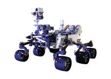 3D che rende Marte Rover su bianco Immagini Stock