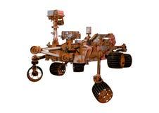 3D che rende Marte Rover su bianco Immagine Stock