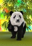 3D che rende Panda Bear Immagine Stock Libera da Diritti