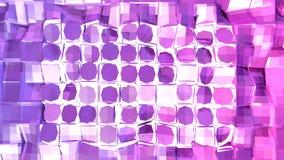 3d che rende poli fondo geometrico astratto basso con i colori moderni di pendenza superficie 3D V2 Immagine Stock