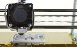 3D che stampa pezzo di ricambio Fotografia Stock Libera da Diritti