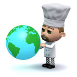 3d Chef is international Royalty Free Stock Images