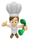 3D Chef Man Mascot just calls me back when you have more time. W Stock Images