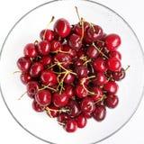 3 d cherry tła white obrazu Obraz Royalty Free