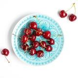 3 d cherry tła white obrazu Obrazy Royalty Free