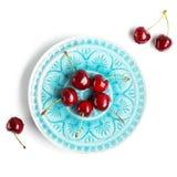 3 d cherry tła white obrazu Fotografia Royalty Free