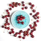 3 d cherry tła white obrazu Zdjęcie Stock