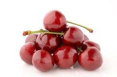 3 d cherry tła white obrazu Zdjęcia Royalty Free