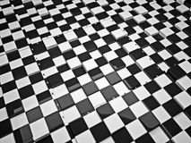 3d chess board. The concept design of futuristic checkerboard. An empty board for chess in modern style Stock Images