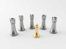 3d chess figur Royalty Free Stock Photography
