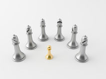 3d chess figur Stock Photos