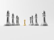 3d chess figur Royalty Free Stock Image