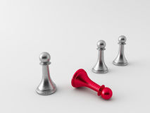 3d chess figur Royalty Free Stock Photo