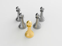 3d chess figur Royalty Free Stock Images