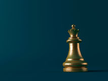 3d chess figur Stock Photography