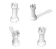 3D Chess piece icon. 3D Icon Design Series. Stock Images