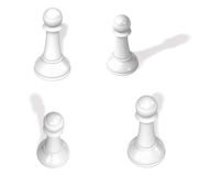 3D Chess piece icon. 3D Icon Design Series. Stock Photography